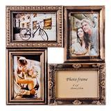 Фоторамка Семейная на 4 фотографии, 34х34х3см, пластик, стекло-3 520-380