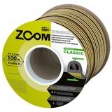 Уплотнитель Classic ZOOM черный D-профиль 100м (6)