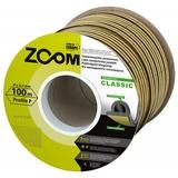 Уплотнитель Classic ZOOM черный P-профиль 100м (6)