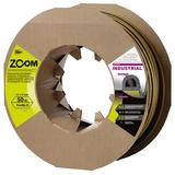 Уплотнитель Industrial ZOOM черный D-профиль 12*10 50м (6)