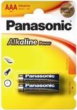 Батарейка щелочная PANASONIС LR03(ААА) Alkaline 1,5В бл/2