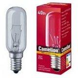 Лампа накаливания MIC Camelion 40/T25/CL/E14 для вытяжек 12984