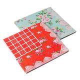 Яркий ситец Салфетки бумажные 12шт, праздничные, 33х33см, 2 дизайна, арт.55-03,530-111