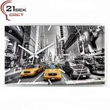 """6036-06(6) Часы настенные """"21 Bek"""" Нью-Йорк"""