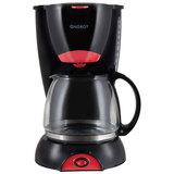 Кофеварка ENERGY EN-606 черная 800Вт 10-12 чашек 152454