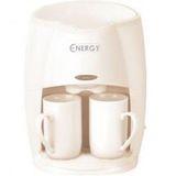 Кофеварка ENERGY EN-601 цвет-кремовый 450Вт 2 чашки 011245