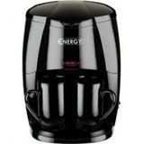 Кофеварка ENERGY EN-601 цвет-черная 450Вт 2 чашки