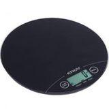 Весы кухонные электронные ENGY EN-403 черные круг. 011645