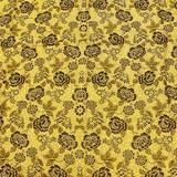 Покрывало гобелен 200*230 см дизайн №1 золото