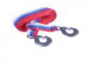 Трос буксировочный 3,5т 4м, ширина 4см, 2 крюка 140гр, пакет FALCO 773-033 Китай