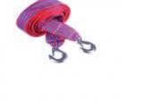 Трос буксировочный 12т 5м, ширина 6см, 2 крюка 140гр, сумка, NEW GALAXY  773-048 Китай