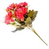 Цветок декоративный Цветочная коллекция, букет, пластик, полиэстр, 25см, 6цв, 1507-15 501-427