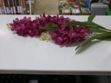 """Цветок искусственный """"Дельфиниум"""" 85 см,пластик,полиэстер,6 цветов,501-278"""