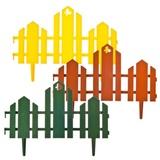 """Заборчик декоративная """"Чудный сад""""(набор 5 секции)34*4,5*19 см,полипропилен,172-022"""