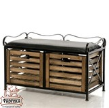 Ящик для хранения 895-37 с мягким сиденьем