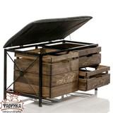 Ящик для хранения 895-38 с мягким сиденьем