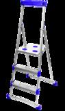 Стремянка широкие 4 ступени (для рыхлых поверхностей) СМ4+