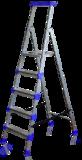 Стремянка широкие 5 ступеней (металл) СМ5