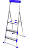 Стремянка широкие 6 ступеней (для рыхлых поверхностей) СМ6+