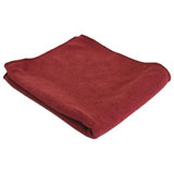 Тряпка для пола из микрофибры M-02F, цвет: бордовый, размер: 40*50 см, 310228, Рыжий кот, Китай