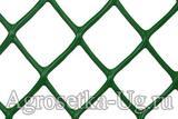 Заборная решетка 45*45 25м (1,8*25) зел