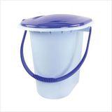 Ведро-туалет 17л голубой (10) М1320