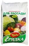 Грунт торфяной, питательный   для рассады Чудо грядка 10л (5) Селигер-Холдинг, Россия