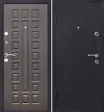 Дверь входная Йошкар венге (860R) ,металл 1,5мм , мдф 8мм