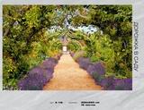 Фотообои бумажные 16л 392*260 Дорожка в саду А116, Россия Тула