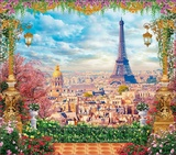 Фотообои бумажные 12л 294*260 Париж А106, Россия Тула