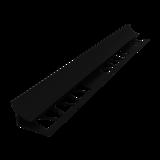 Раскладка под плитку СК 9мм*2,5м, внутренний, черный, 927, Россия
