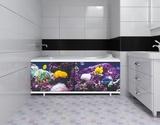 Экран для ванны, прямоугольный, 148*56, Закат, Подводный мир, Россия