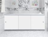 Экран для ванны, прямоугольный, 148*56, белый, универсальный, Премиум А, Россия