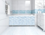 Экран для ванны, прямоугольный, 148*56, мозайка, Ультра, Россия