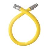 Шланг газовый желтый 2,0м в/н TUBOFLEX, Китай