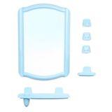 4108 набор для ванной BEROSSI светло-голубой