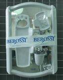 4604 набор для ванной BEROSSI серый мрамор