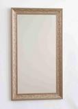 Зеркало для ванной комнаты  Престиж, настенное, в багете, 63*110 см, серебро, Континент, Россия