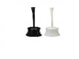 Ёрш для туалета полосатый VETTA , пластик, 2 цвета, Китай