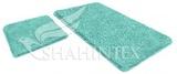 Набор ковриков для ванной комнаты LAMA 60*90+60*50см голубой, Shahintex, Китай