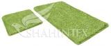 Набор ковриков для ванной комнаты LAMA 60*90+60*50см, салатный, Shahintex, Китай